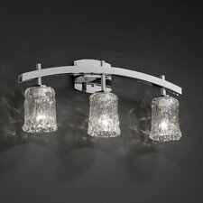 <strong>Justice Design Group</strong> Archway 3 Light Bath Vanity Light