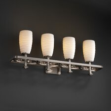 <strong>Justice Design Group</strong> Limoges Arcadia 4 Light Bath Vanity Light