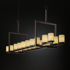 <strong>Justice Design Group</strong> Limoges Dakota 20 Light Chandelier