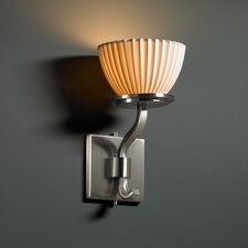 <strong>Justice Design Group</strong> Limoges Sonoma 1 Light Wall Sconce