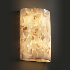 <strong>Justice Design Group</strong> Alabaster Rocks 2 Light Wall Sconce
