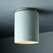 Radiance 1 Light Outdoor Flush Mount