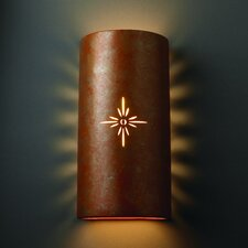 Sun Dagger Big 2 Light Outdoor Wall Sconce