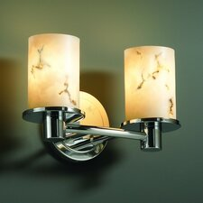 <strong>Justice Design Group</strong> LumenAria Rondo 2 Light Bath Vanity Light