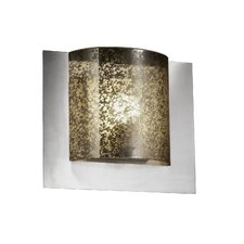 <strong>Justice Design Group</strong> Fusion Framed Square 1 Light Wall Sconce
