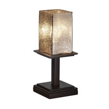 """Fusion Montana Short 12.75"""" H Table Lamp with Square Shade"""