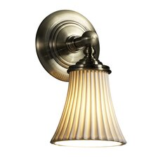 <strong>Justice Design Group</strong> Limoges Tradition 1 Light Wall Sconce