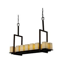 <strong>Justice Design Group</strong> Limoges Montana 12 Light Chandelier with Additional Chain