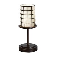 <strong>Justice Design Group</strong> Wire Glass Dakota Table Lamp