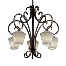 Clouds Victoria 5 Downlight Chandelier