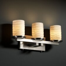 <strong>Justice Design Group</strong> Limoges Dakota 3 Light Bath Vanity Light