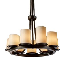 CandleAria Dakota 9 Light Chandelier