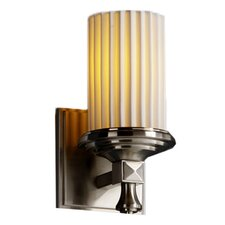 <strong>Justice Design Group</strong> Limoges Deco 1 Light Wall Sconce