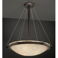 <strong>Justice Design Group</strong> Veneto Luce 3 Light Inverted Pendant