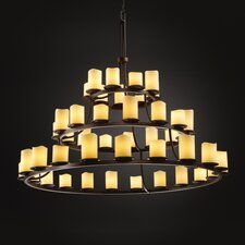 CandleAria Dakota 45 Light Chandelier