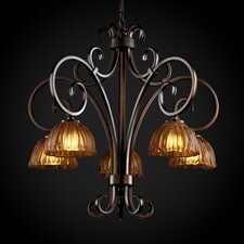 Victoria 5 Light Downlight Chandelier