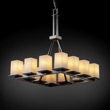 Fusion Montana 12 Light Chandelier with Additional Chain