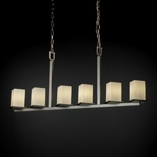 Fusion Montana 6 Light Bar Chandelier