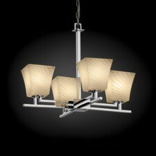 Aero Fusion 4 Light Chandelier