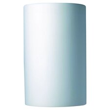 Ambiance Cylinder 1 Light Outdoor Wall Sconce