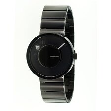 Vue Yves Behar Watch with Black Metal Band