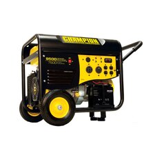 7,500 Watt Portable Gas Powered Generator