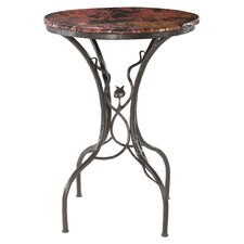 "Sassafras 36"" Bar Table in Fired Copper"