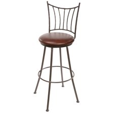 "Ranch 25"" Swivel Bar Stool with Cushion"
