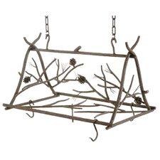 Pine Pot Rack
