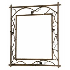 Pine Branched Small Wall Mirror