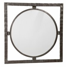 <strong>Stone County Ironworks</strong> Forest Hill Large Round Mirror