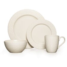Gourmet Basics Hayes 16 Piece Dinnerware Set