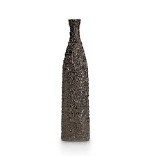 Metallic Bottle Vase