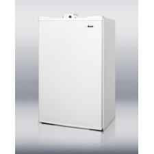 "<strong>Summit Appliance</strong> 34.25"" x 19.63"" Refrigerator Freezer in White"