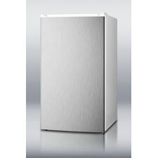 "<strong>Summit Appliance</strong> 33.5"" x 18.75"" Refrigerator Freezer with Crisper Cover Glass Type"