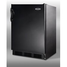 "<strong>Summit Appliance</strong> 33.25"" x 23.63"" Refrigerator in Black"