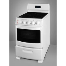 <strong>Summit Appliance</strong> Electric Range in White