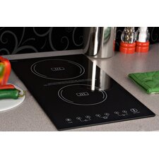 "3.25"" x 11.38"" Induction Cooktop in Black"