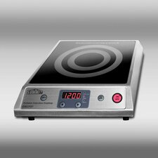 <strong>Summit Appliance</strong> Induction Cooktop with Stainless Steel Cabinet