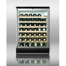 Wine Cellar with Full Length Towel Bar Handle in Black