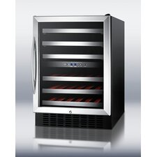 46 Bottle Dual Zone Thermoelectric Built-In Wine Refrigerator