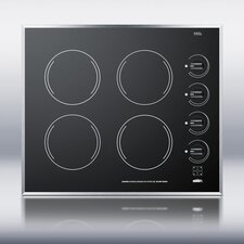 <strong>Summit Appliance</strong> 4-Burner Electric Cooktop
