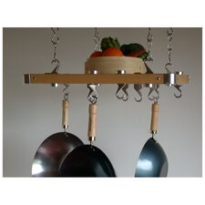 Track Rack European Ceiling Hanging Pot Rack