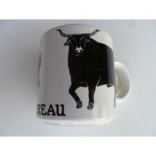 "Vintage French Le Taureau ""Bull"" 11 oz. Mug"
