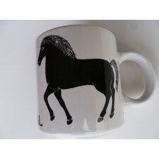 "Vintage French Le Cheval ""Horse"" 11 oz. Mug"