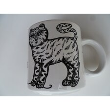 """Vintage French  Chat Et Souris """"Cat and Mouse"""" 11 oz. Mug"""