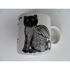 "Vintage French Le Chat Alle ""Winged Cat"" 11 oz. Mug"