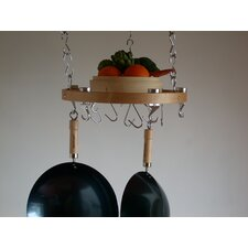 <strong>Taylor & Ng</strong> Track Rack Round Ceiling Hanging Pot Rack