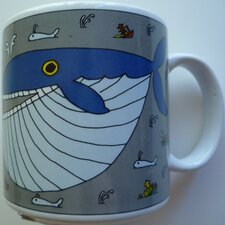 Classy Critter 11 oz. Whopper Whale Mug