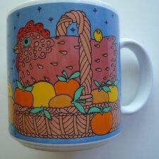 Classy Critter 11 oz. Chicken in Basket Mug